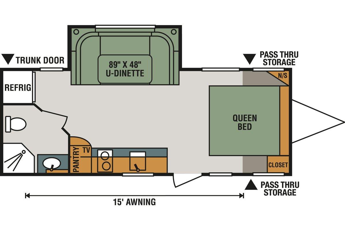 Escape E201RB floorplan image