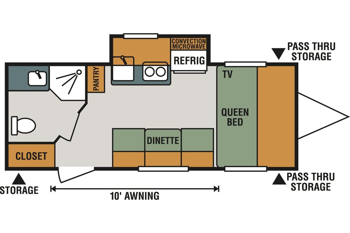 M181KS floorplan image
