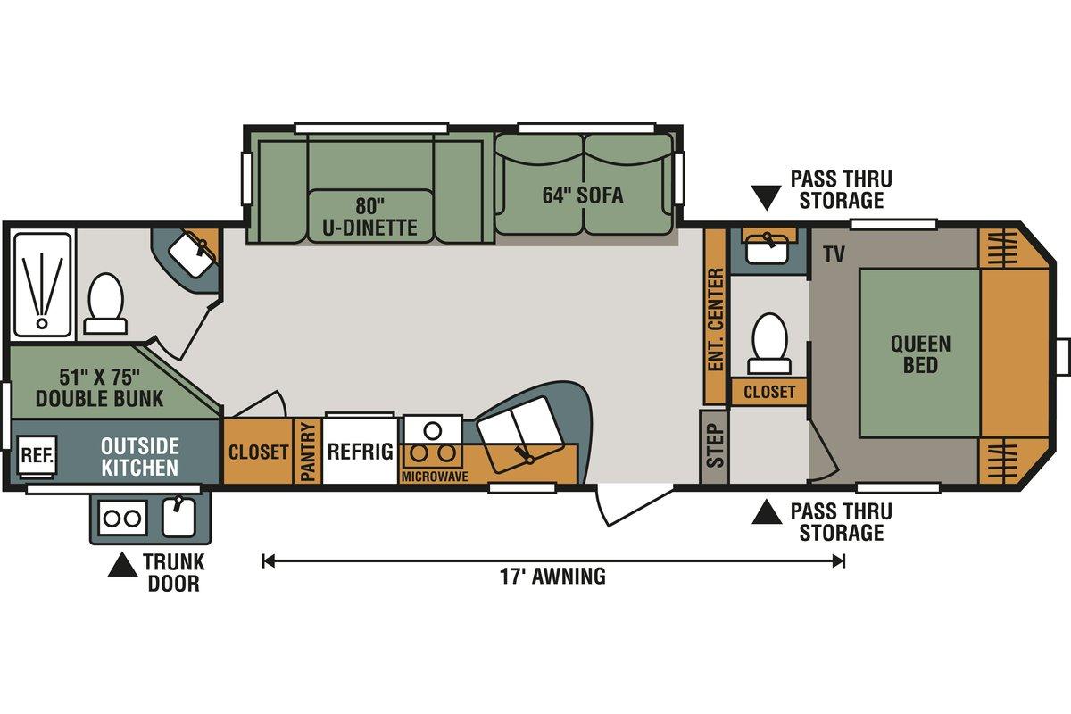 281BHK floorplan image