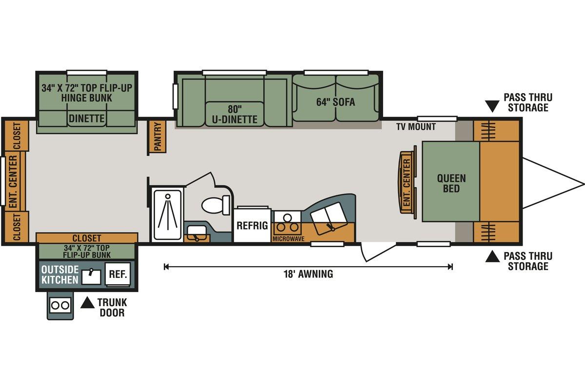 323BHK floorplan image