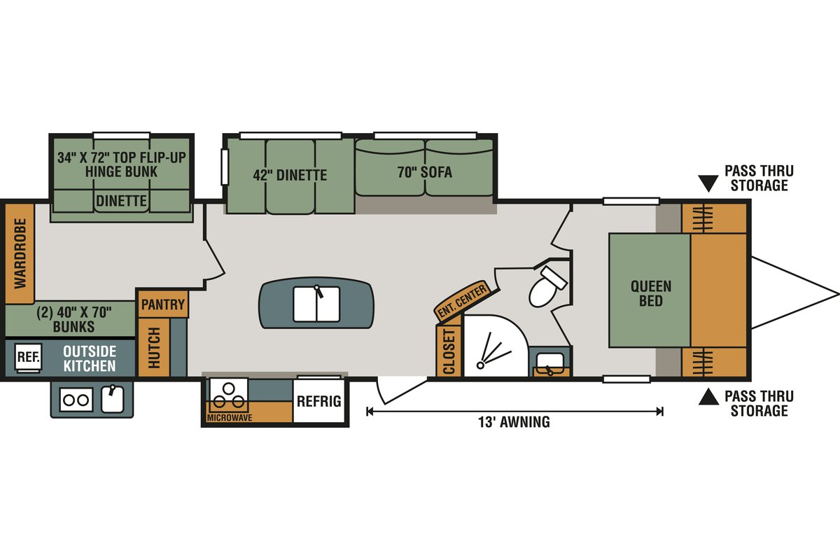 333BHK floorplan image