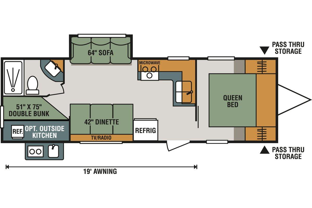 261BHLE floorplan image
