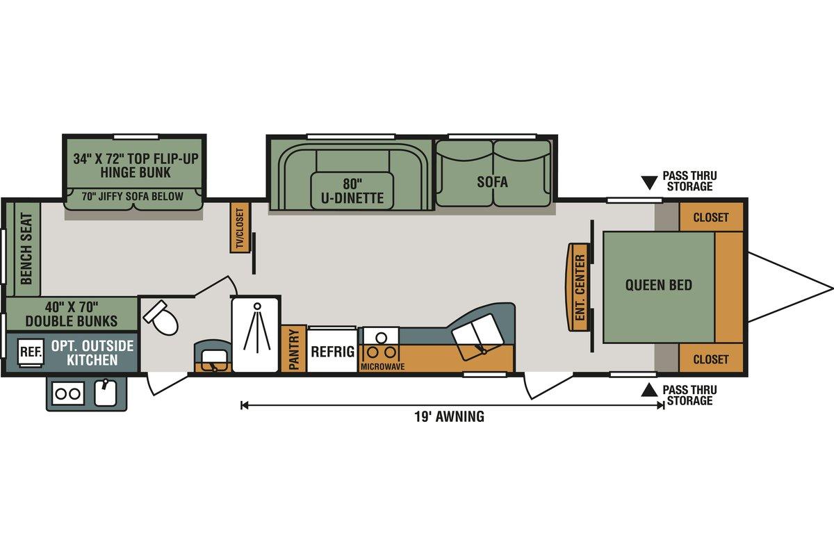332BHLE floorplan image