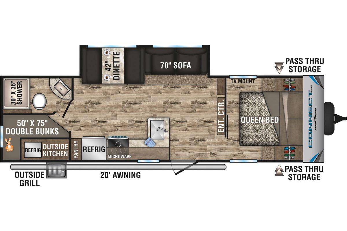 C261BHKSE floorplan image