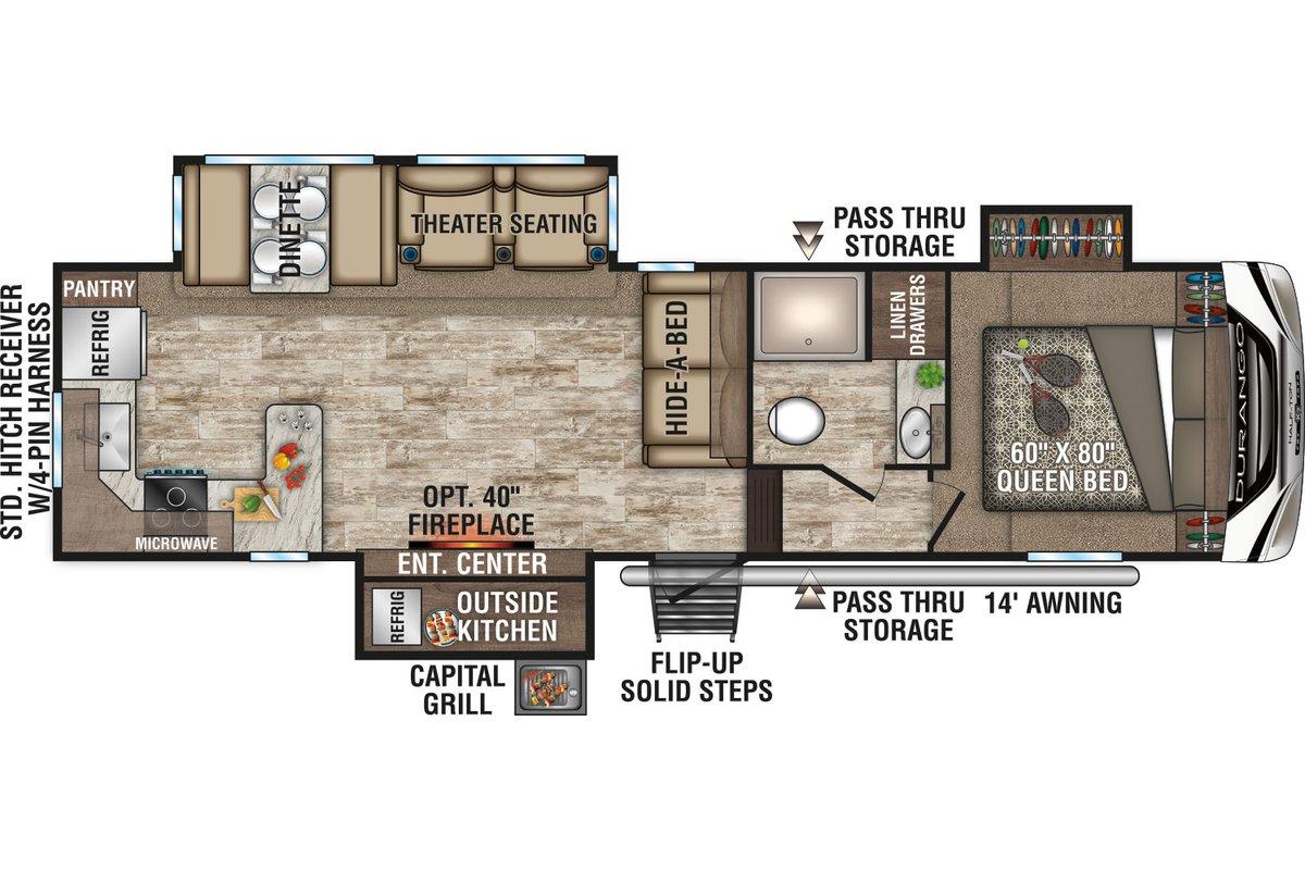 D256RKT floorplan image