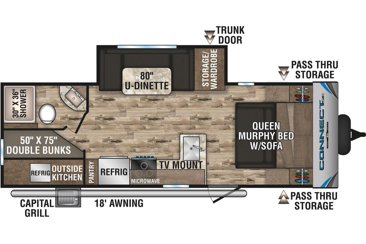 C231BHKSE floorplan image