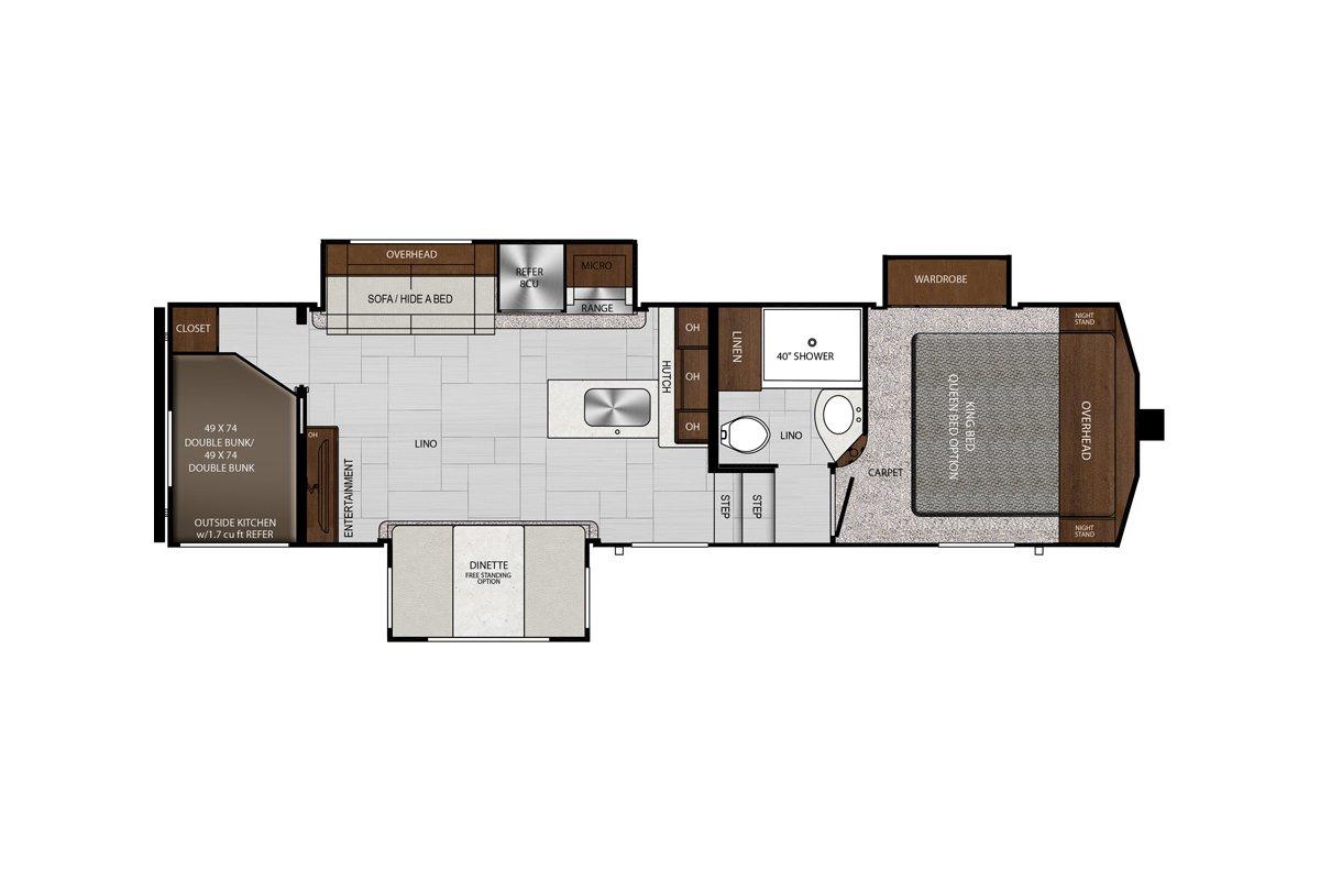 28BHS floorplan image