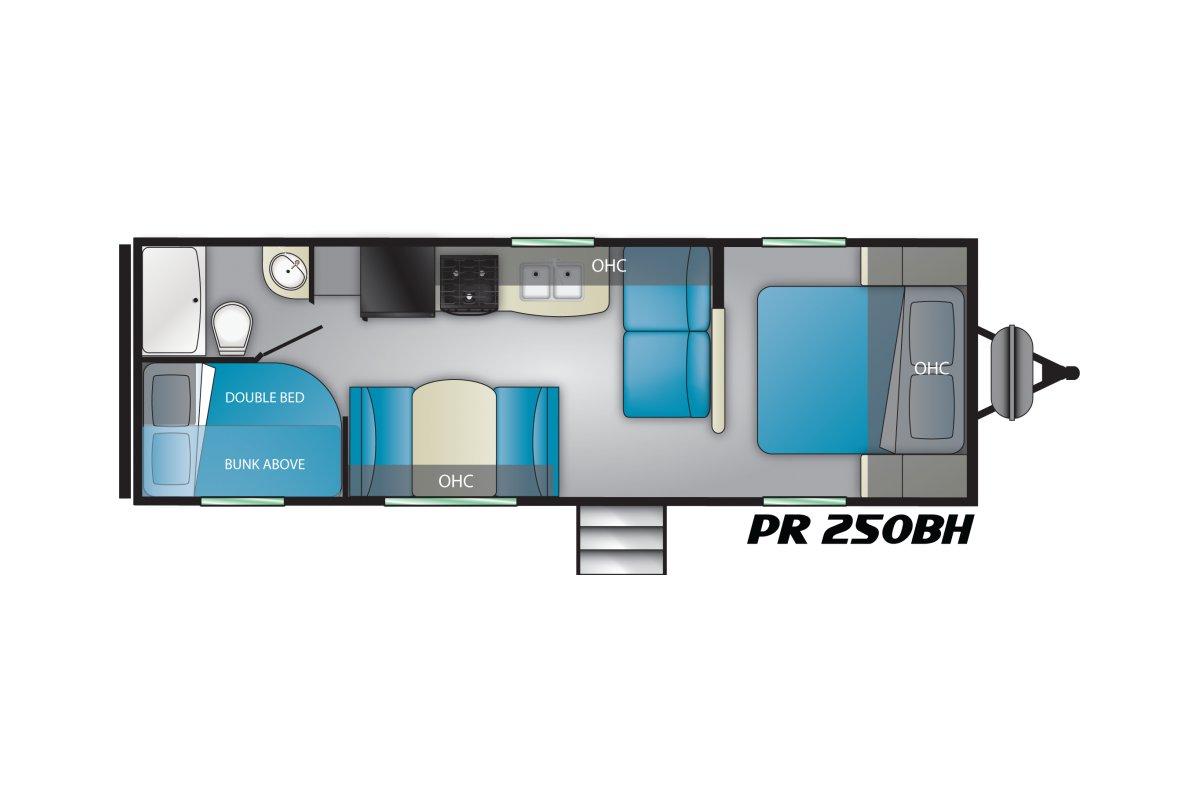 250BH floorplan image