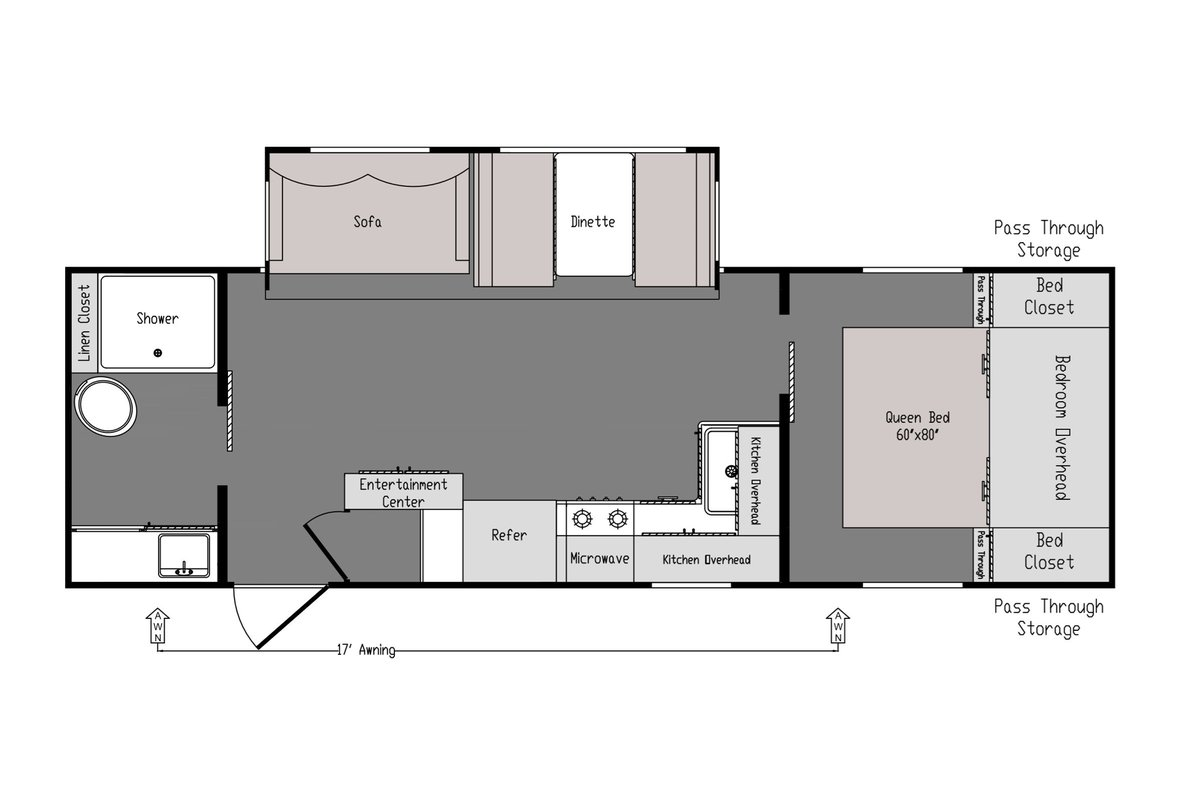 260RB floorplan image
