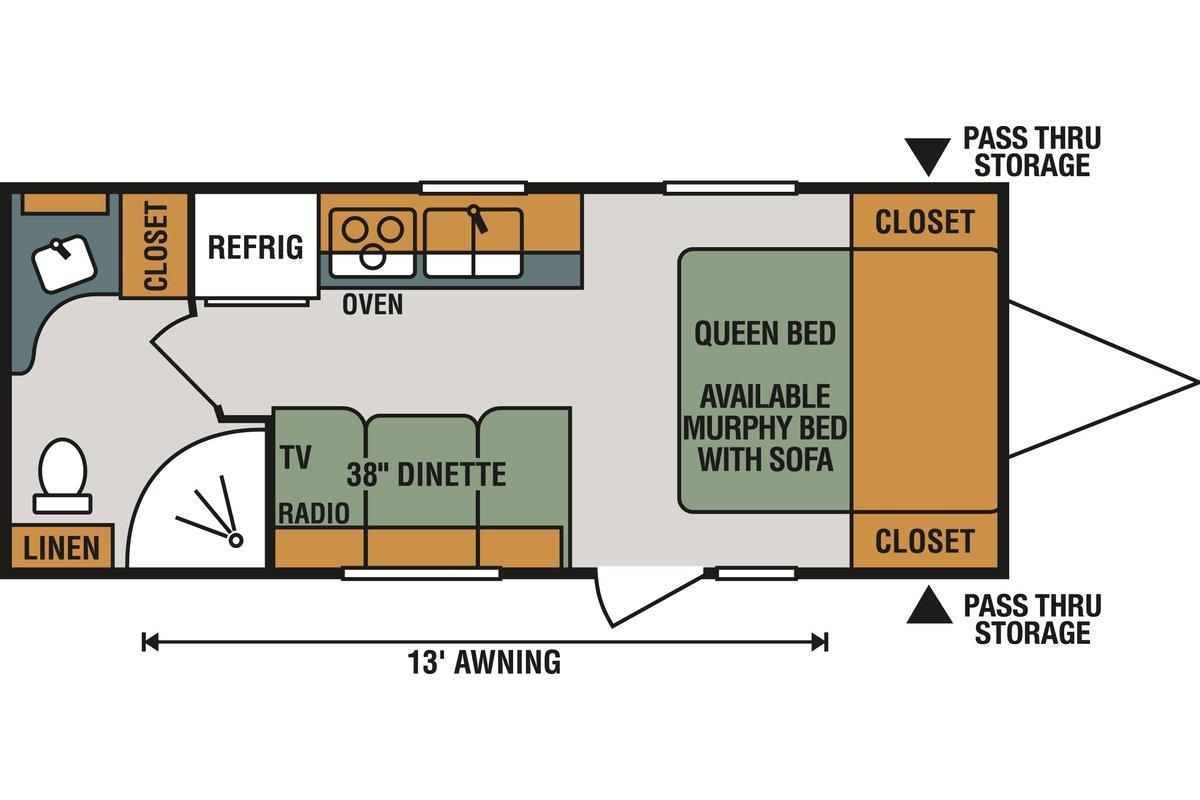 C190RB floorplan image