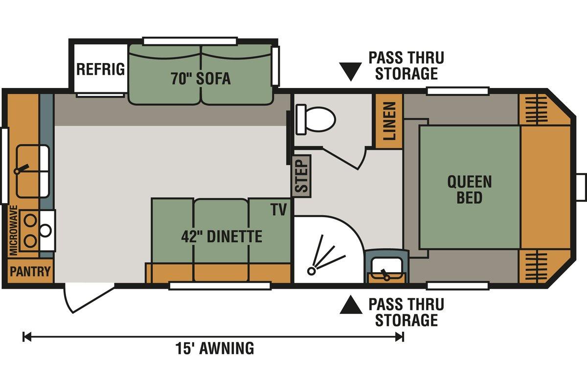231RK floorplan image