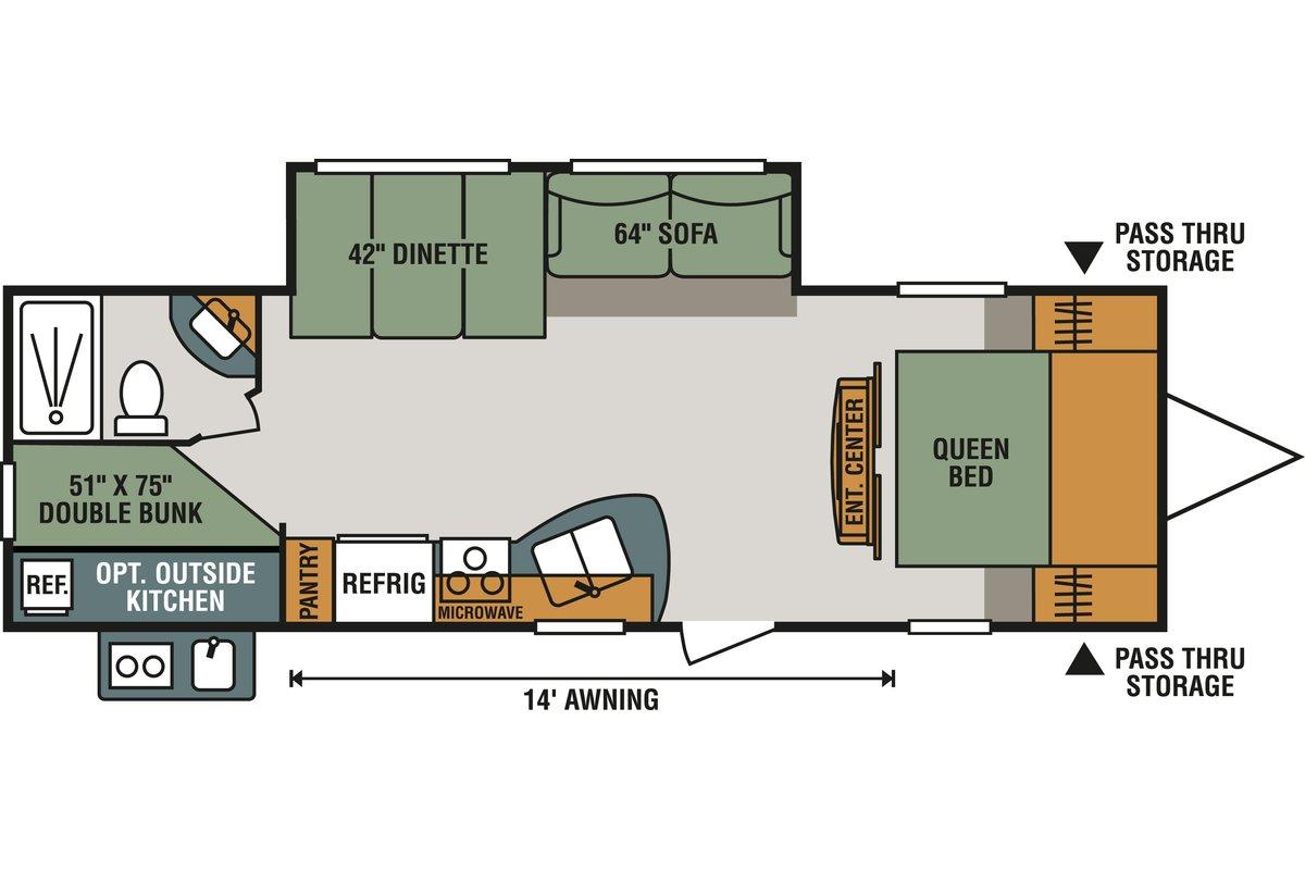 271BHLE floorplan image