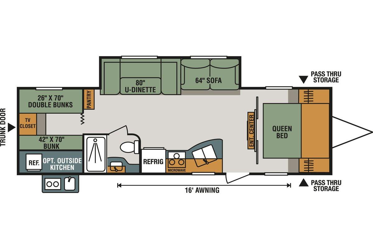 301BHLE floorplan image