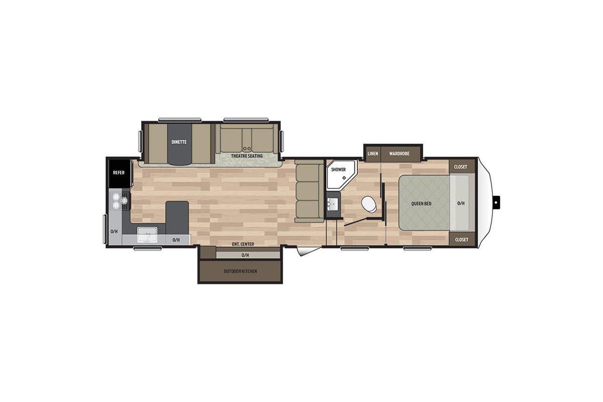 302FWRK floorplan image