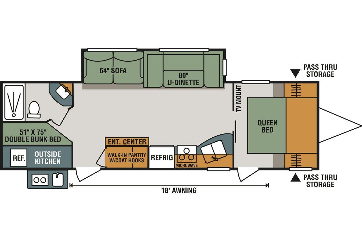 291BHK floorplan image