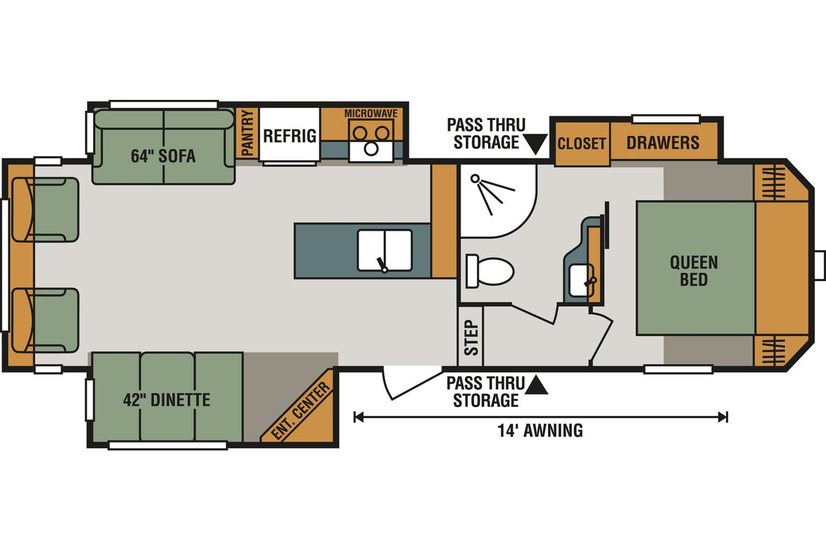 293RL floorplan image