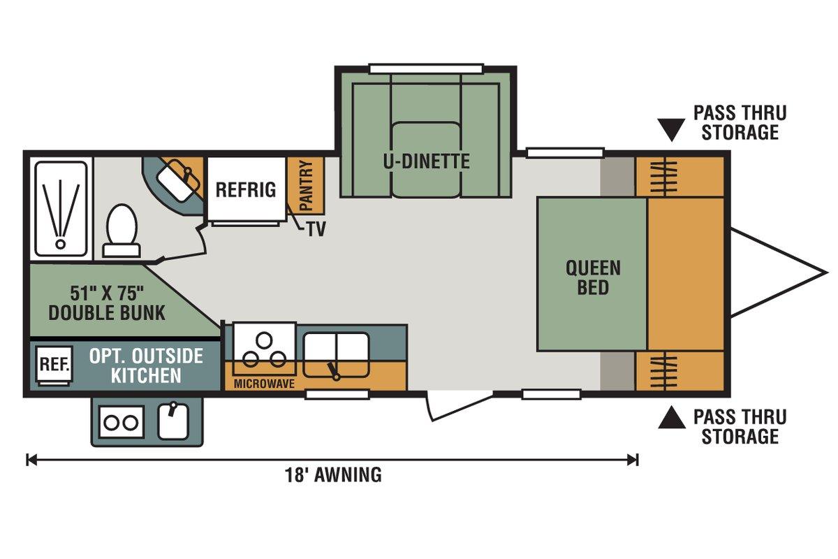 231BHLE floorplan image