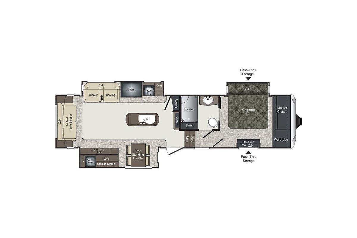 325RL floorplan image
