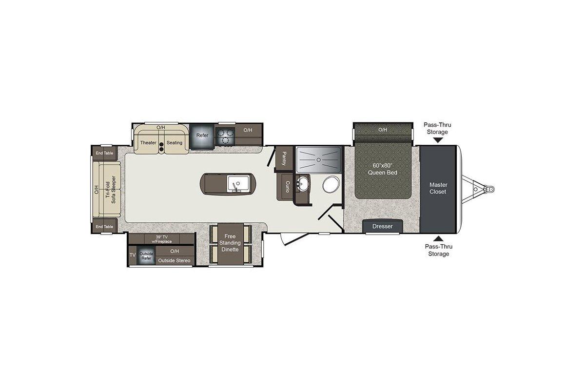 330RL floorplan image